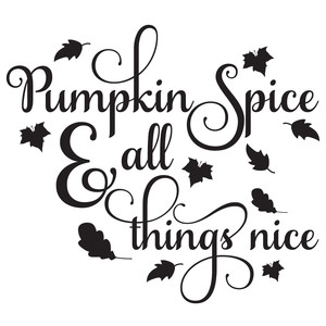 pumpkin spice & all things nice