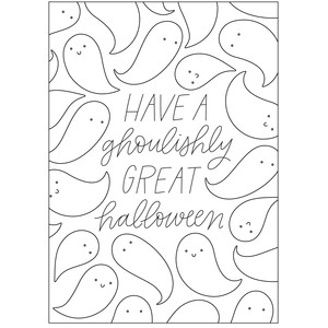 sketch halloween card - a2 & a7 sizes