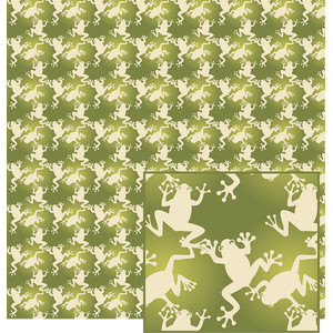 frogs pattern