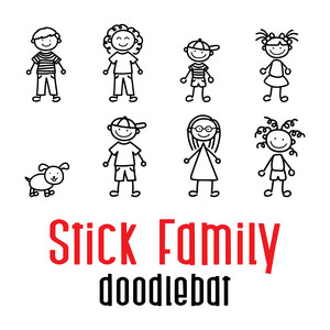 stick family doodlebat