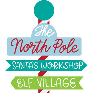 the north pole sign