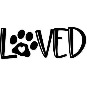 loved paw
