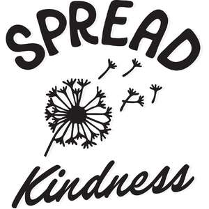 spread kindness dandelion