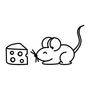 mouse&cheese