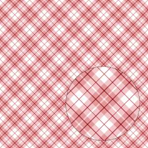 red & white christmas plaid seamless pattern