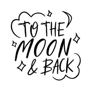 to the moon and back love quote
