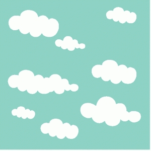 cloud mask / background / template