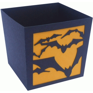 flying bats candy box