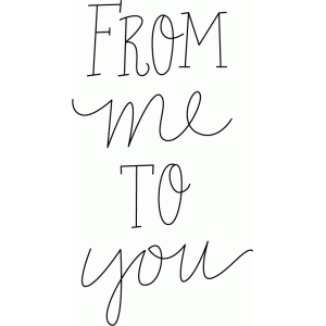from me to you sketch phrase