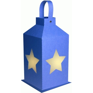 single star hanging lantern