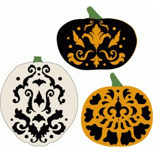 damask pumpkins