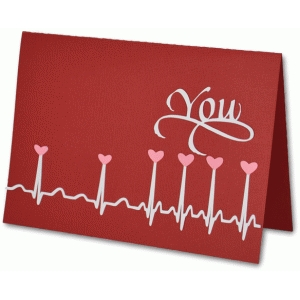 ekg heart you card