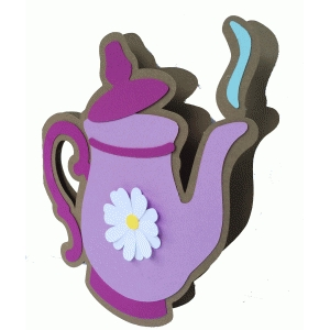 teapot shadow card