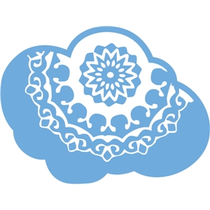 dear lizzy doily cloud