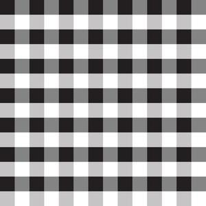 black buffalo check plaid pattern