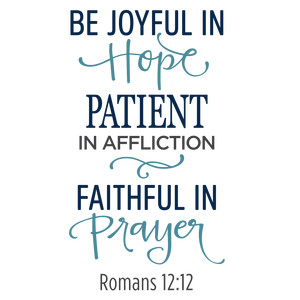 be joyful in hope phrase
