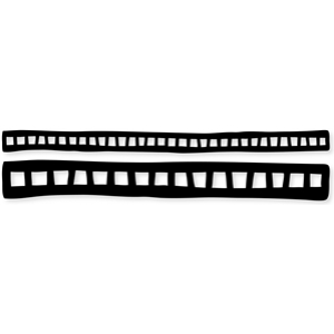 film strip borders