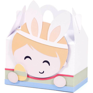 blond boy easter box