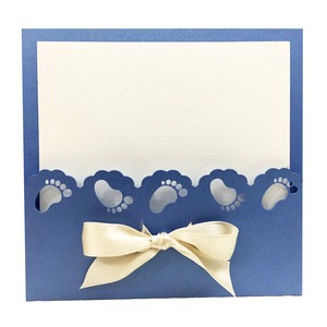 lace feet card