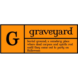 g is for graveyard pc