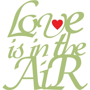 love is in the air phrase