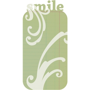 smile journaling space