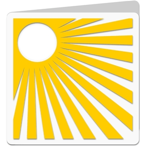 square sunshine card