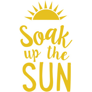 soak up the sun phrase