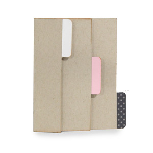 flexi vertical album - tabbed page