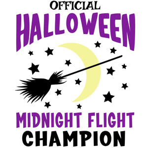 halloween midnight flight champion