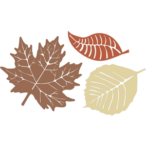 fall leaf set