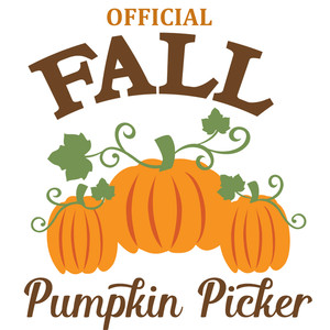 official fall pumpkin picker