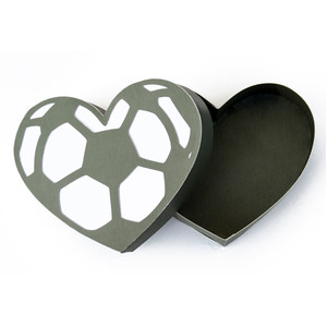 soccer heart box
