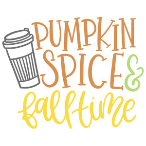 pumpkin spice and fall time
