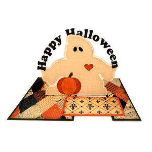 halloween ghost impossible card
