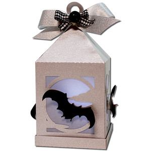 bat hanging tea light lantern