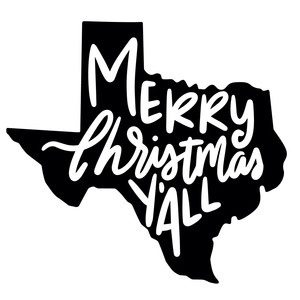 merry christmas y'all texas