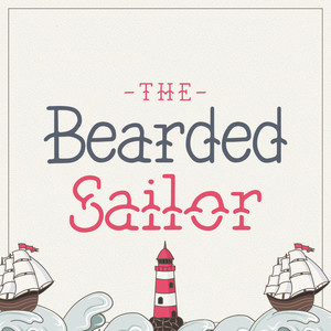 the bearded sailor font