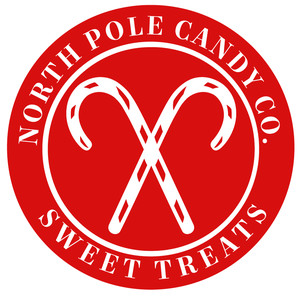 north pole candy candy co label
