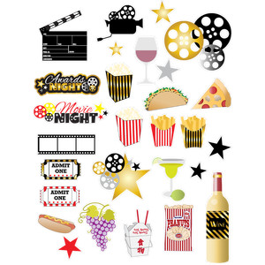 movie night an awards planner stickers