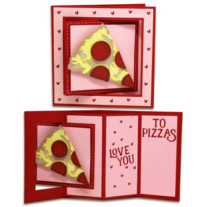 pizza window lever card