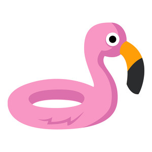summer flamingo