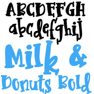 zp milk and donuts bold