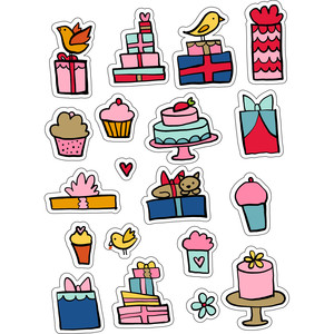 ml it's your birthday stickers