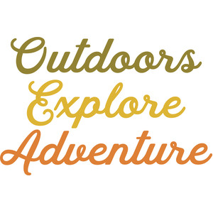 outdoors explore adventure words