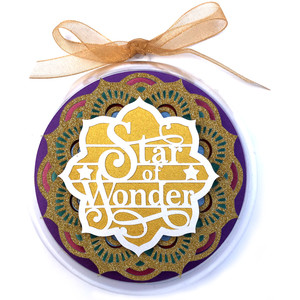 star of wonder christmas ornament
