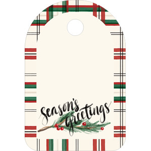season's greetings tag