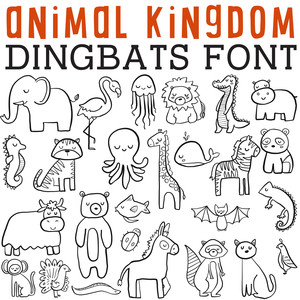 cg animal kingdom dingbats