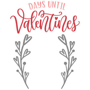 days until valentines