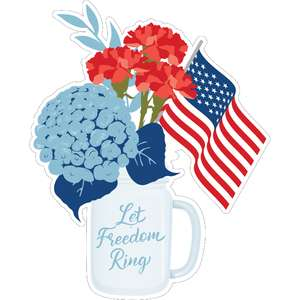let freedom ring flowers